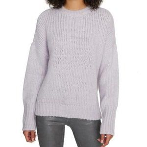 Sanctuary Telluride Sweater Lilac Snow Slouchy M